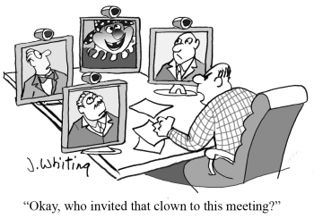 clownmeetingcartoon
